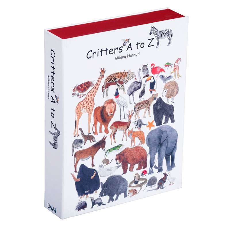 Critters A to Z - hardcover version - closed