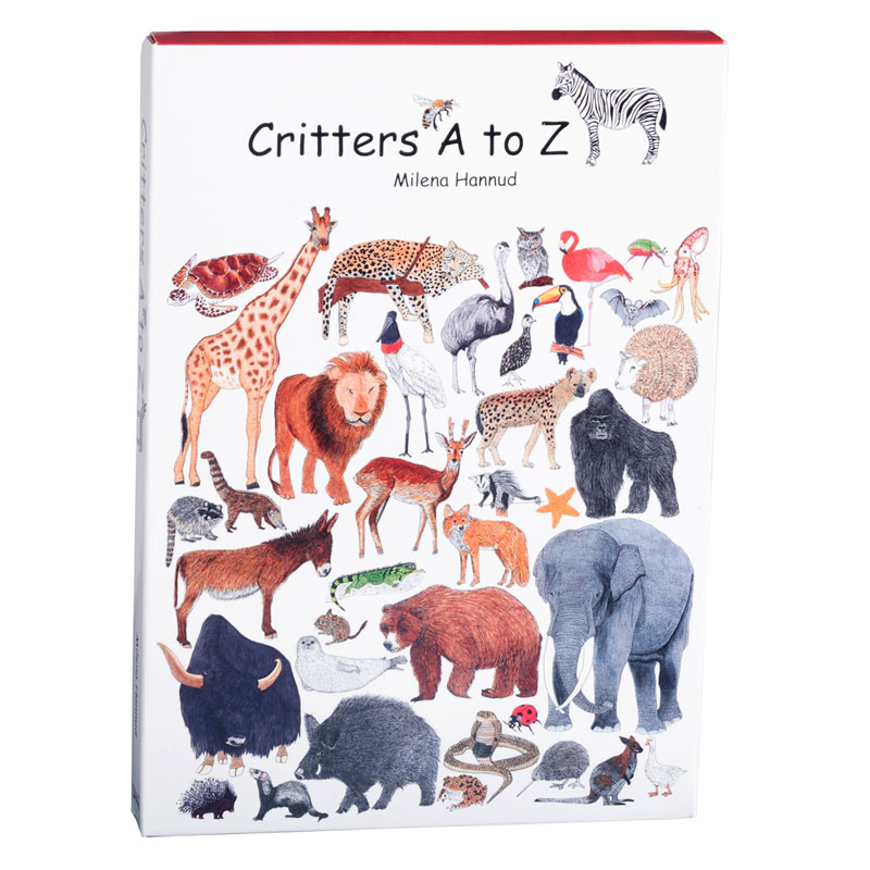 Critters A to Z - paperback version - closed