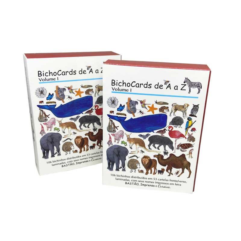 Bichocards Volume 01 - Cartões ilustrados - caixa fechada